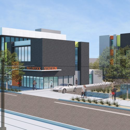McClintock Station Rendering